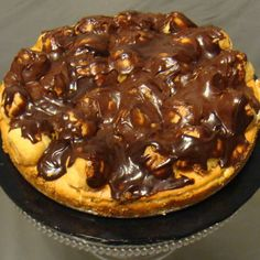 Chocolate Eclair Cheesecake