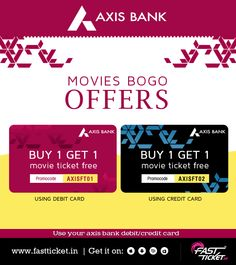 Double fun this week! Join the cruise with Mehras and have a happening time. Get a free movie ticket on booking movie ticket using your Axis bank card on @fastticket.in. Dil dhadke gaa...