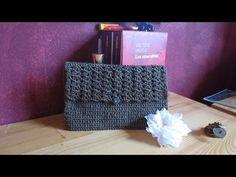 Bolsa de crochet para paleta de mezcla maquillaje - YouTube