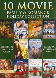 Shop 10 Movie Family & Romance Holiday Collection Discs] [DVD] at Best Buy. Find low everyday prices and buy online for delivery or in-store pick-up. Xmas Movies, Kid Movies, Movie Tv, Holiday Movies, Children Movies, Christmas Proposal, Christmas Pageant, Christmas Time, Christian Films