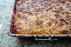 Cooking with Ria: Cheesy and Creamy Trinidad Macaroni Pie
