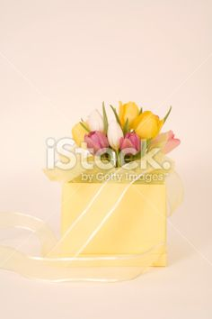 Gift of Flowers Royalty Free Stock Photo