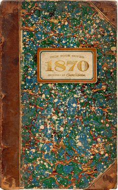 1870 Antique Book Cover