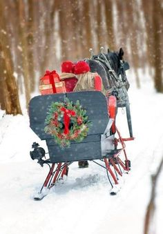 I'm sure I could find the perfect Christmas gift if I went shopping in my sleigh!