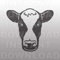 Download Cow Silhouette Stencil | Stencils!! | Pinterest | Cow ...