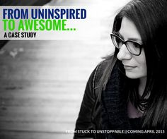 Do you want to go from uninspired to awesome?  How about from tired to taking charge?  That's just what my client Sarah Kerner did in group coaching!  Not