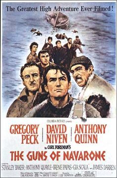 """""""The Guns of Navarone"""" directed by J. Lee Thompson / 2nd grossing film in 1961"""