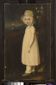 'Portrait of a Young Girl (Little Mary)' by Sir William Beechey, British, 1810-15. Philadelphia Museum of Art, nr. PHL2641389