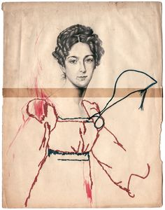 embroidering and whispering - Montse Bernal