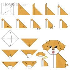 Step By Instructions How To Make Origami Fox