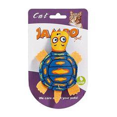 Brinquedo para Gato Mordedor Caricat Tartaruga Jambo Pet - Meuamigopet.com.br #cat #cats #gato #gatinho #bigode #muamigopet