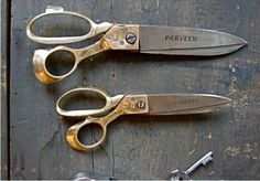 scissors large and small