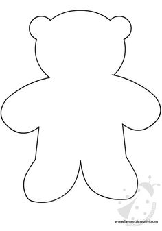 1179 x 1600 · 357 kB · jpeg, Teddy Bear TemplateServing Pink Lemonade: Search results for Teddy bearMake a teddy bear using this pattern and brown puffy paint and wiggly eyes.Pattern to create CorduroyMy two year old loves h Teddy Bear Template, Pink Lemonade Punch, Diy And Crafts, Crafts For Kids, Ornament Template, Christmas Stencils, Bear Theme, Felt Christmas Ornaments, Photo Booth Props