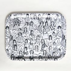 50 Under-$50 Gifts You'd Actually Want #refinery29  http://www.refinery29.com/50-under-50-home-buys#slide-6  Leah Goren's fabulous illustrations on the world's cutest tray, ever....