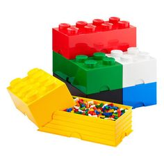 Fab.com | Colorful LEGO Brick Storage