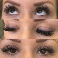 Dramatic individual eyelash extensions by Little Lash Boutique in Babylon, NY 11702. Book your appointments online at www.littlelashboutique.com