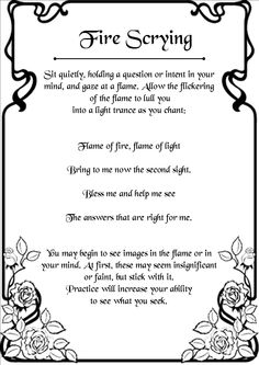 Scrying with Fire Wiccan Spell Book, Wiccan Witch, Magick Spells, Witch Spell, Wicca Witchcraft, Spell Books, Candle Spells, Wiccan Wands, Hoodoo Spells