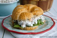 My Grandma's Secret Ingredient Chicken Salad Recipe is one of her most requested! This versatile, creamy chicken salad is packed with fresh flavors!