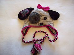 Cuddle Me Beanies: Animal Beanies - must pay for patterns...