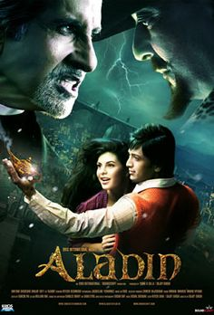 Aladin (2009) (India) Since he was a child, Aladin Chatterjee has been teased for his fairytale name. As a college student he follows his namesake's footsteps; unleashing genie Genius and wooing exchange student Jasmine. But the evil Ringmaster approaches.