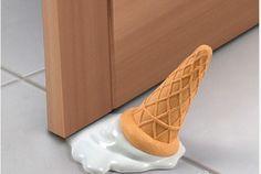 Creative Ice Cream Shaped Door Stop Design