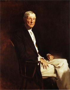 """""""John D. Rockefeller"""" (1917) John Singer Sargent"""