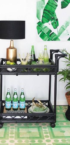 Bar carts are on my mind at the moment. As we finalise the styling of the library, we are considering placing a bar cart along one wall. Bart carts come in all different shapes and sizes and can be decorating in many ways to suit your home. Let's have a look at 9 of my …