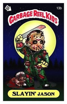 Friday the 13th, Garbage Pail Kids