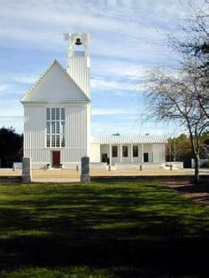 Chapel, Seaside, Florida..THIS is where i am getting married. it has the most amazing italian-like garden out front (behind the camera) PERFECT for a reception. it is STUNNING. beach+european+southern feel all rolled into one. Future guests? you're welcome.