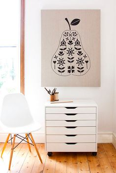 The Modern Family Home: Black and White Art | Dotcoms for Moms