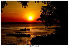 Sunset Manaus, Brazil