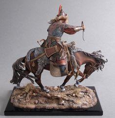 Russian Vityaz Elite Soldier Genghis Khan Horseback 120 mm Scale | eBay