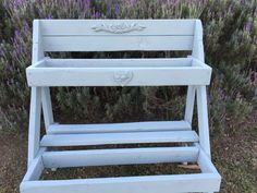 plant stand done with annie sloane duck egg blue and rusticbling Ornamental Mouldings, Duck Egg Blue, Annie Sloan, Embellishments, Bling, Rustic, Creative, Artwork, Handmade