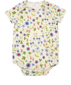 Liberty London Childrenswear Baby Girl Mirabelle Print Bodysuit | Baby Clothing by Liberty London Childrenswear | Liberty.co.uk