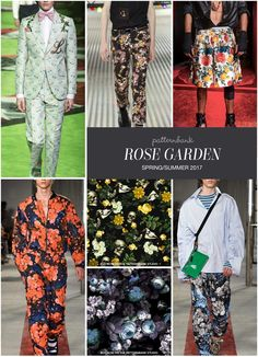 Rose Garden SS17 – Hand Curated Seasonal Trend Theme on the Patternbank Studio