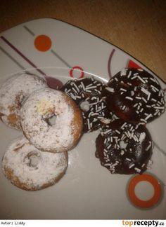 Mini donuts ( donutky ) - vdolky, koblížky