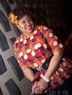 Casual Ankara Top!! ~African fashion, Ankara, kitenge, African women dresses, African prints, African men's fashion, Nigerian style, Ghanaian fashion ~DKK