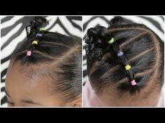 Easy Hairstyles For Mixed Hair For Long Hair - mixed toddler hairstyles 502724 easy 5 minute toddler Black Toddler Hairstyles, Mixed Baby Hairstyles, Easy Little Girl Hairstyles, Flower Girl Hairstyles, Easy Hairstyles, Elegant Hairstyles, Black Hairstyles, Hairdos, Short Haircuts