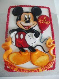 Mickey Mouse Birthday Cake  Cakes By Tina