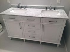 Home Decorators Collection Sonoma 60 In W X 22 D Double Bath Vanity Dark Charcoal With Natural Marble Top Grey White