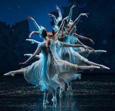 Don't miss Cincinnati's favorite holiday tradition!  #cincinnatiballet #cincinnati #ballet #nutcracker #snow