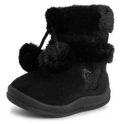 d0c6bb81adbf Girls Butterfly Boots (Toddler/Little Kid) Black 4 M US Toddler Kali  Footwear