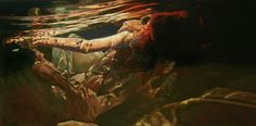 """Genesis, study, Mark Heine 24 X 48"""" oil on canvas Available more information on my web site at ...http://691075302507215949.weebly.com/genesis-study.html"""