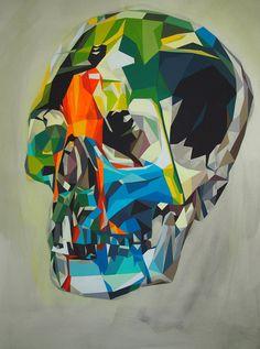 """""""DOOM LOOP #19″ by California artist Tim Biskup"""