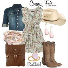 cute country look Looks Country, Country Girl Style, Country Fashion, My Style, Country Chic, Cowgirl Outfits, Cowgirl Style, Cowgirl Boots, Western Style