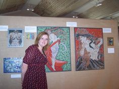 Melanie Watts Mosaics, exhibiting at the Roman Palace in Chichester, England with the British Association of Modern Mosaic !
