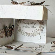 UHK Gallery - inspiracje: Grzybkowe pudełka ślubne