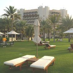 Ritz Carlton, Muscat Muscat, Outdoor Furniture, Outdoor Decor, Sun Lounger, Home Decor, Chaise Longue, Decoration Home, Room Decor, Home Interior Design