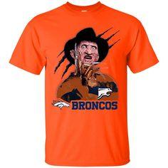 Freddy Denver Broncos T Shirt – Best Funny Store Broncos Memes, Cool Store, Denver Broncos, Cool Shirts, Funny, Die Hard, Halloween Christmas, Mens Tops, T Shirt