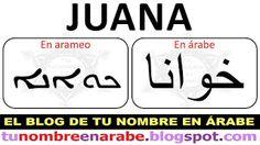 Tu nombre en Arameo para Tatuajes - TU NOMBRE EN ÁRABE